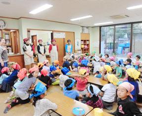 嵐山東児童館の様子